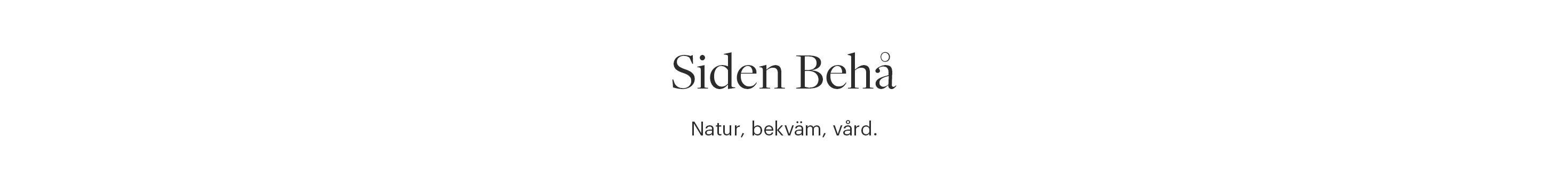 Siden Behå