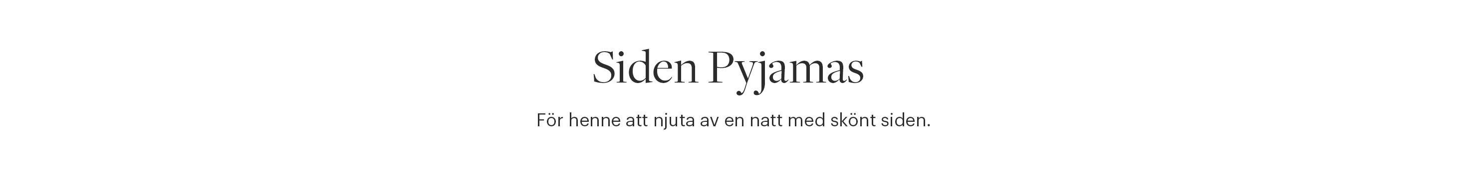 Siden Pyjamas Dam