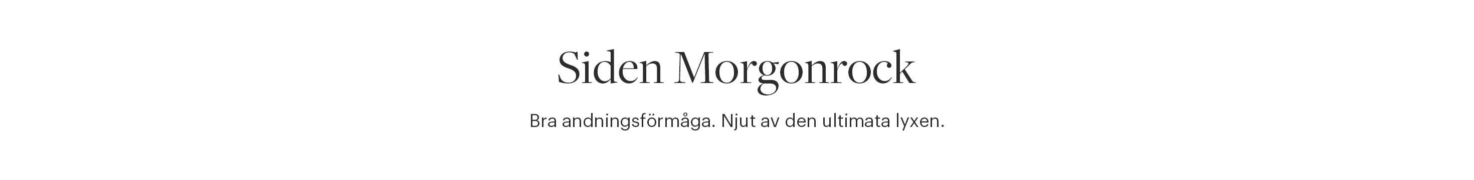 Siden Morgonrock Dam