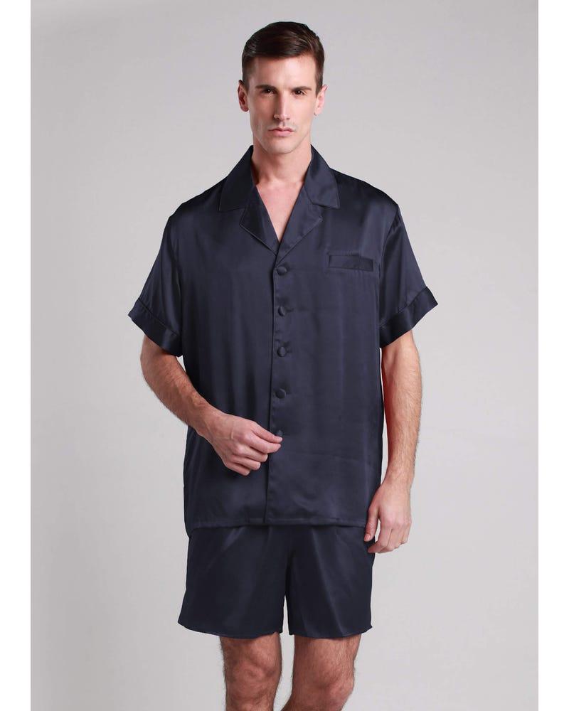 22 Momme Classic Short Silk Pajamas Set