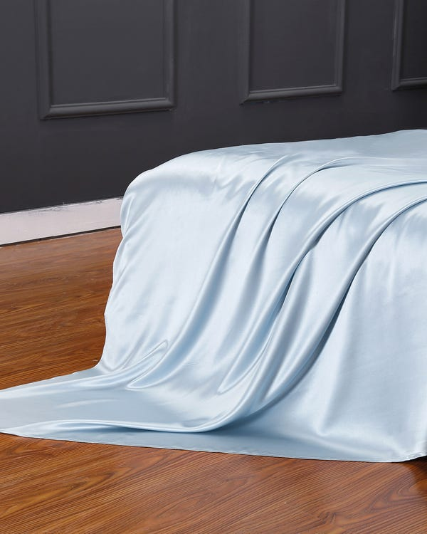 22 Momme Seamless Silk Flat Sheet-hover