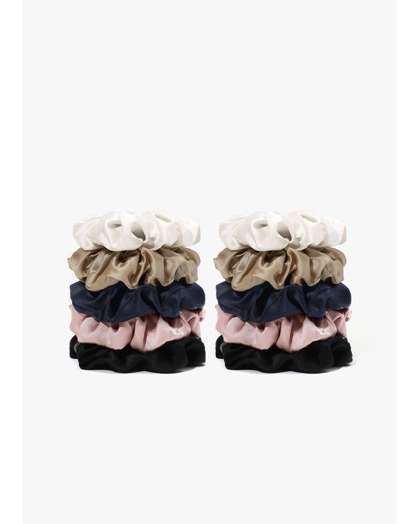 Mjuk Silke Medium Scrunchie-hover