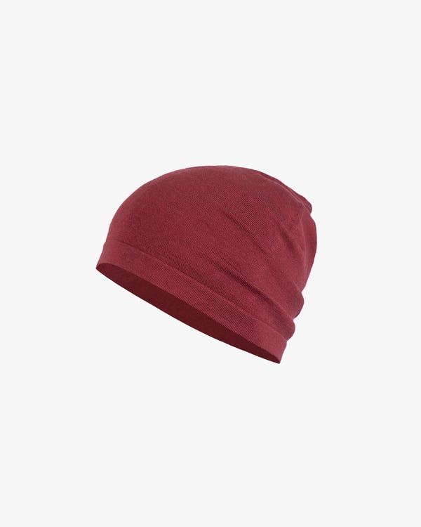 Basic Soft Silk Knitted Dome hat-hover