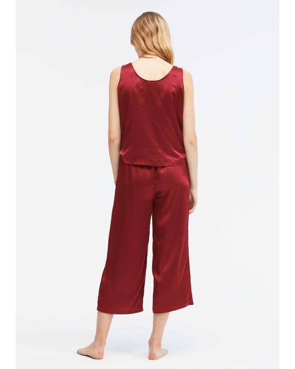 22 Momme Lätt Silk Jumpsuit Pyjama-hover