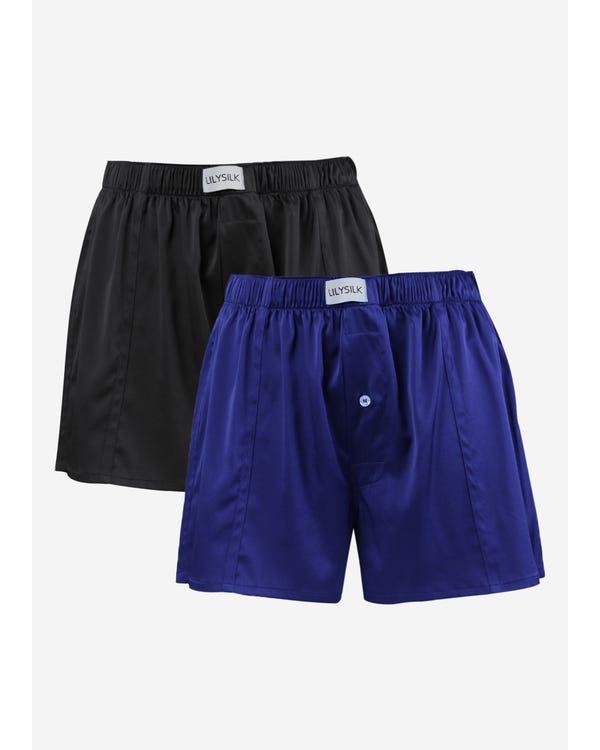 Lyxiga Boxershorts I Siden 2-pack-hover