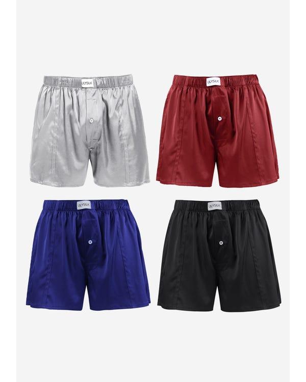 Lyxiga Boxershorts I Siden 4-pack