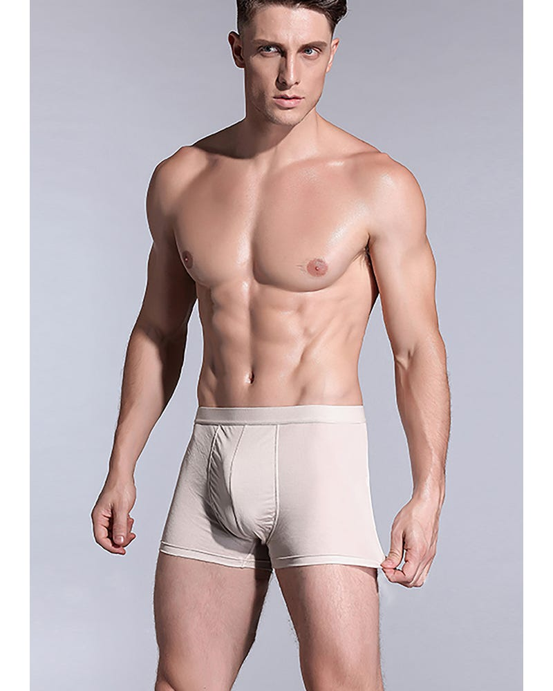 Herrar Ultra Soft Comfy Silke Boxer