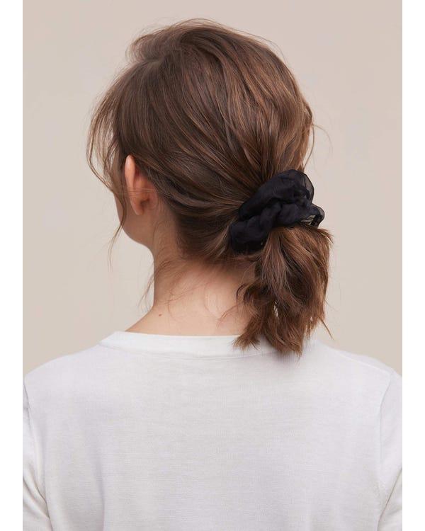 Silk Organza Hair Scrunchies