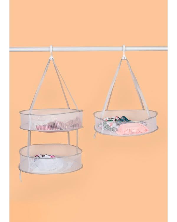 Multi-use Hanging Laundry Drying Basket