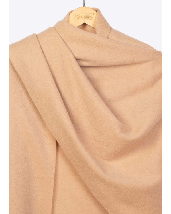Warm Soft Pure Woolen Shawl-hover