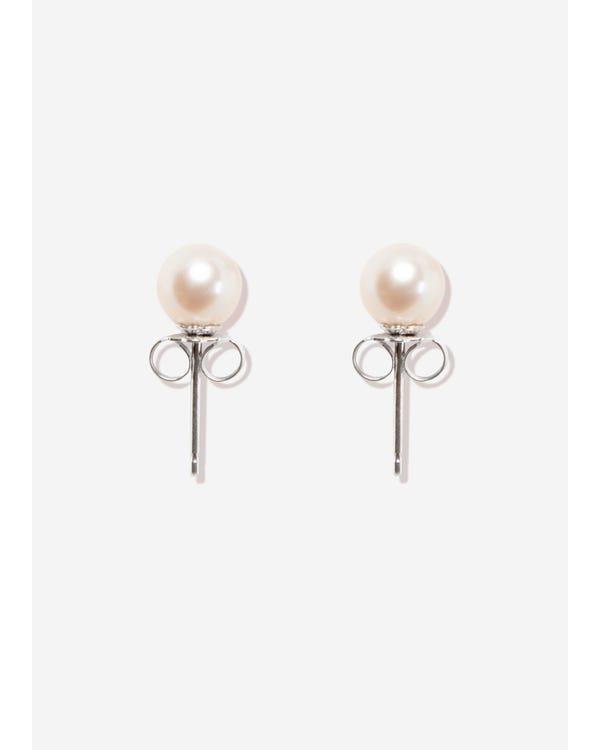 Naturliga Pärla örhängen