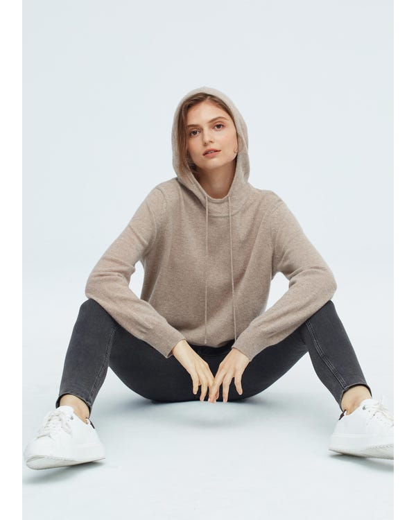 Woman Pullover Cashmere Knit Sweater-hover