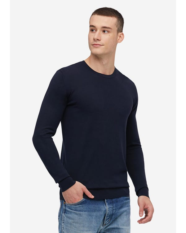 Fashion Silk Knitted Tee For Men