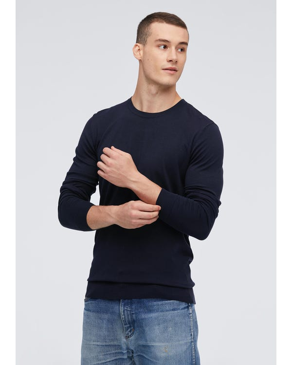 Fashion Silk Knitted Tee For Men-hover