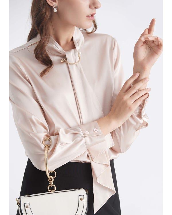 Feminin Stående Halsband-hover