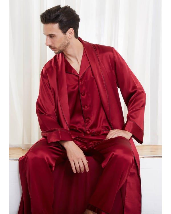 22 Momme Långa Ärmar Par Morgonrockar & Pyjamas Set-hover