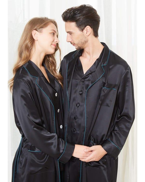 22 Momme Eleganta Par Morgonrockar & Pyjamas Set-hover