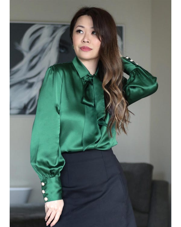 MIM 2 in 1 Silk Shirt-hover